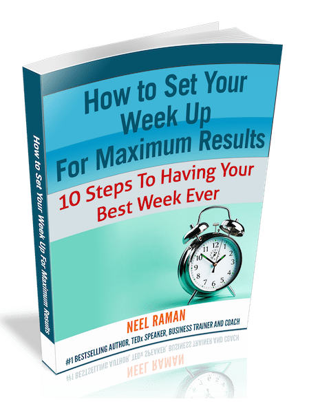 How To Set Your Week Up For Maximum Results