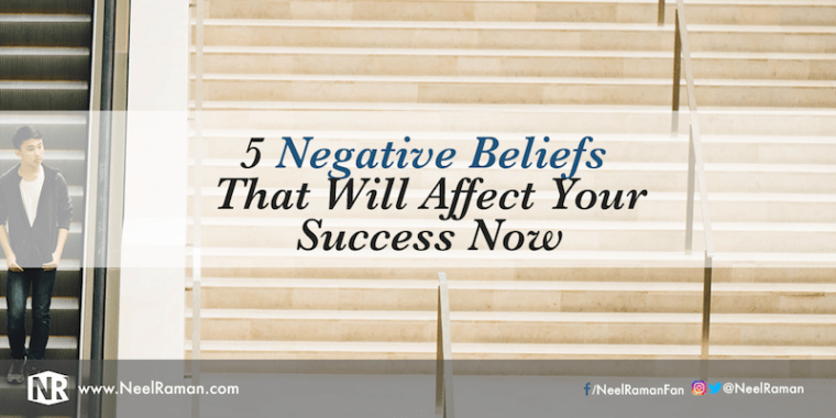 How to overcome negative or limiting beliefs