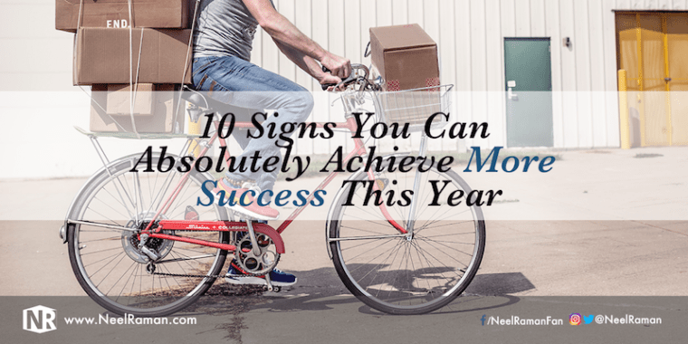 How to know you can achieve more success this year