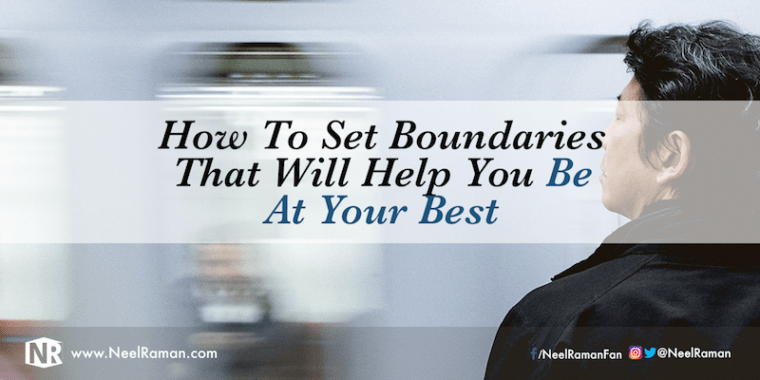 Ways to set proper boundaries