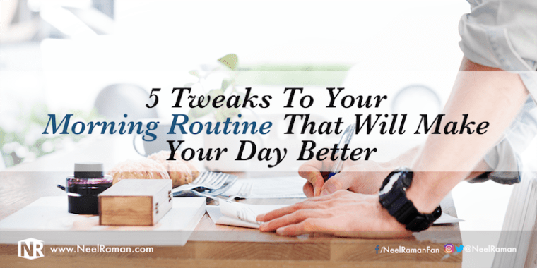How to create a good morning routine