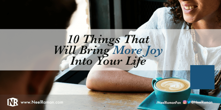 How to live joyfully