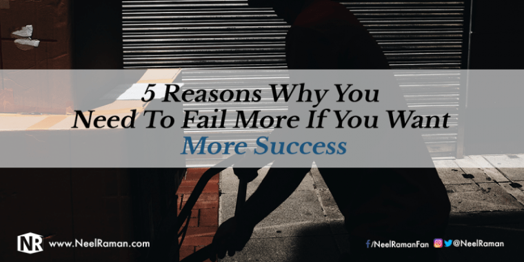 Why failure is good for success