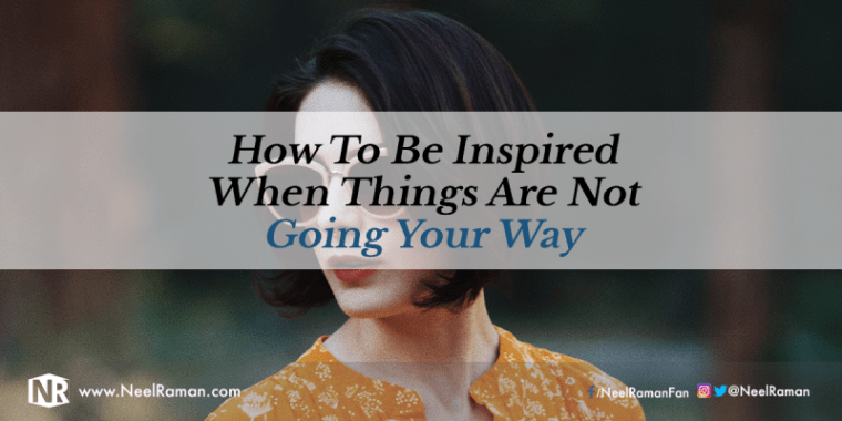Things that get you inspired again