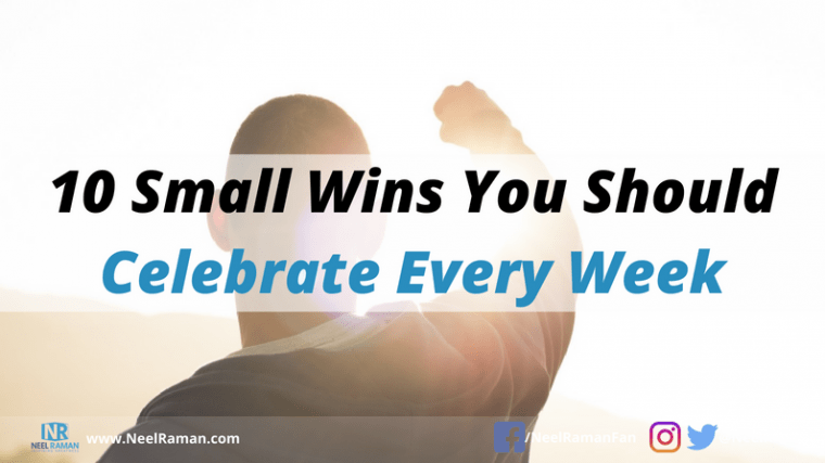 how to celebrate success