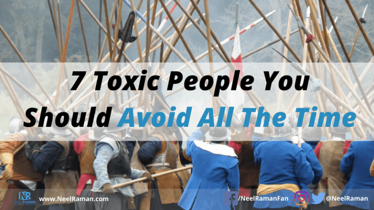 types of toxic people to avoid