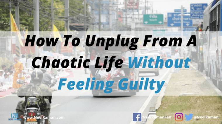 ways to unplug from work
