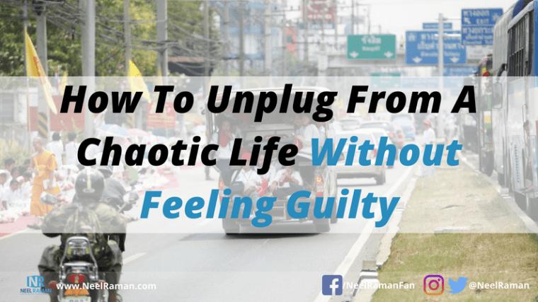 ways to unplug from work