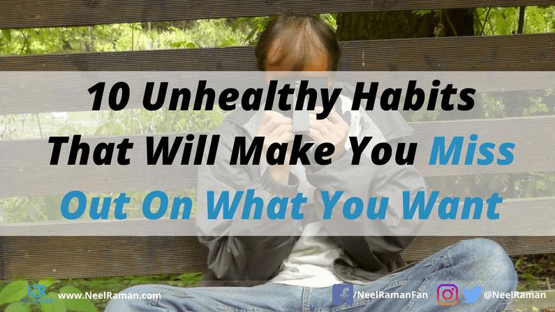 ways to develop better habits