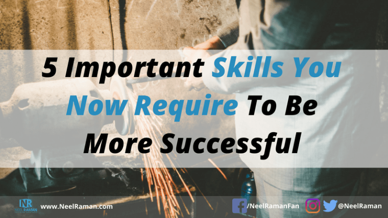 skills required to be more successful