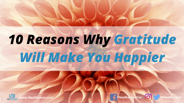 the benefits of being grateful