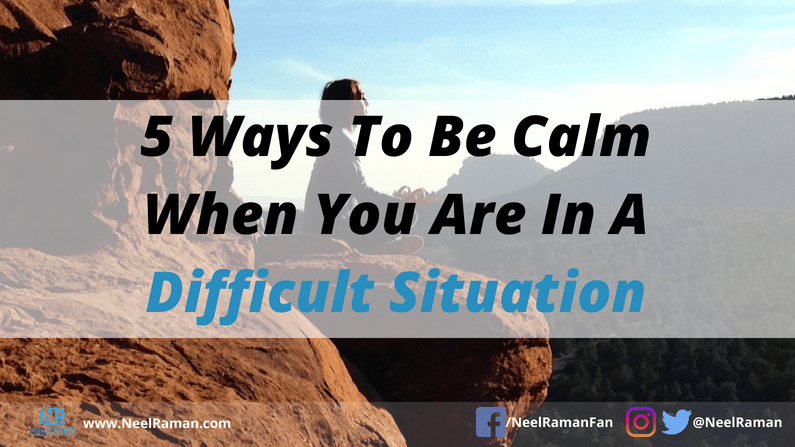 how to deal with stressful situations
