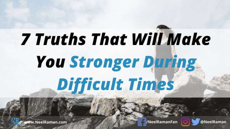 how to cope with difficult times