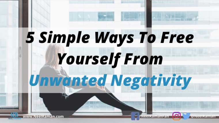 Ways to avoid being negative