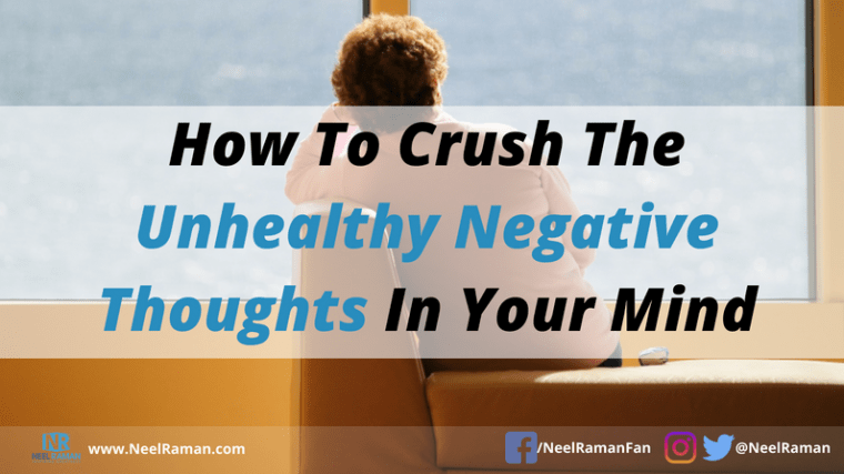 Ways to overcome negative thoughts