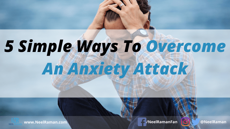 Ways to deal with anxiety