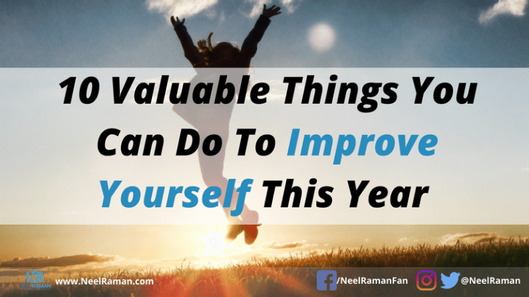 Ways to improve yourself