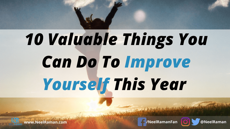 Ways to improve yourself
