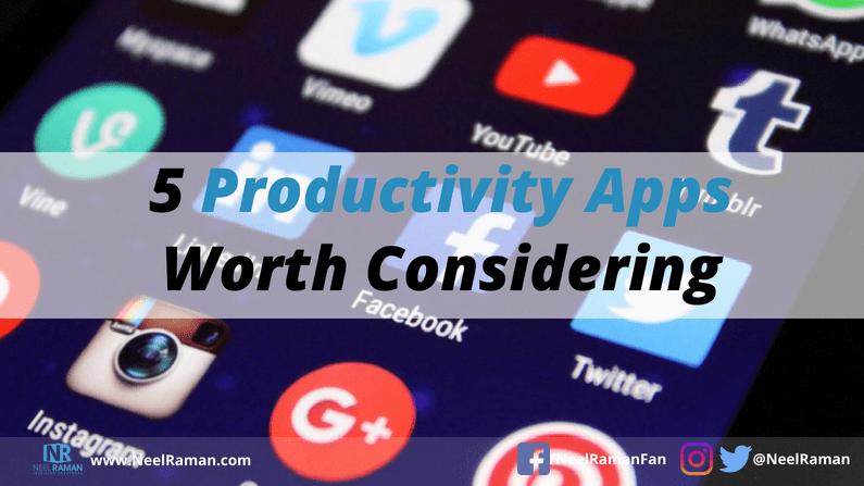 popular productivity apps
