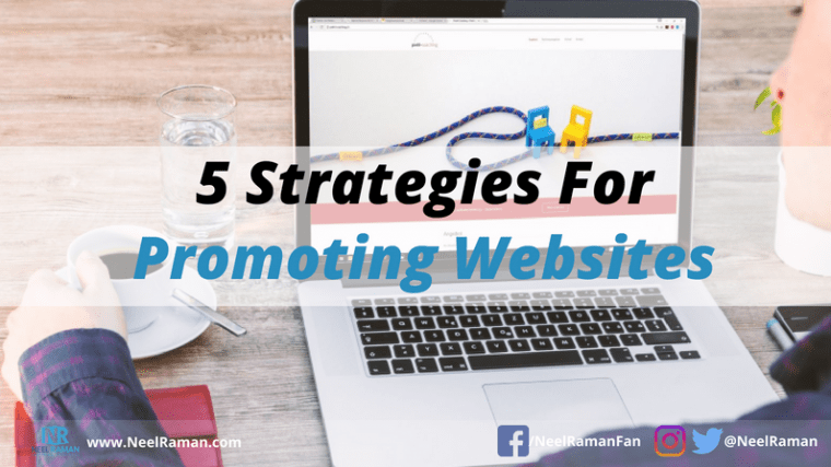 ways to promote a website