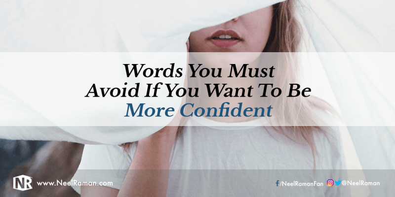 Words that affect confidence