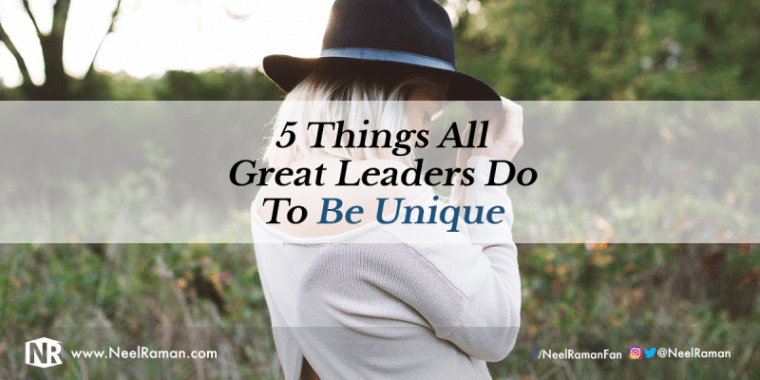 Unique qualities of a leader