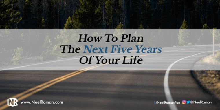 5 year life plan