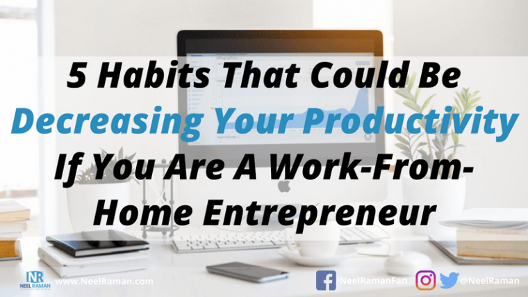 productivity habits for entrepreneurs