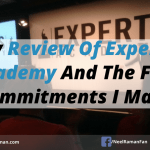 My Review Of Experts Academy And The Five Commitments I Made