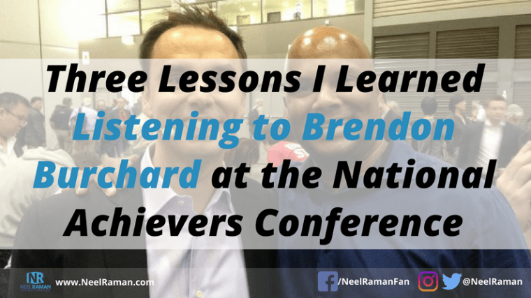 best lessons from Brendon Burchard