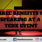 Three Benefits of Speaking at a TEDx Event