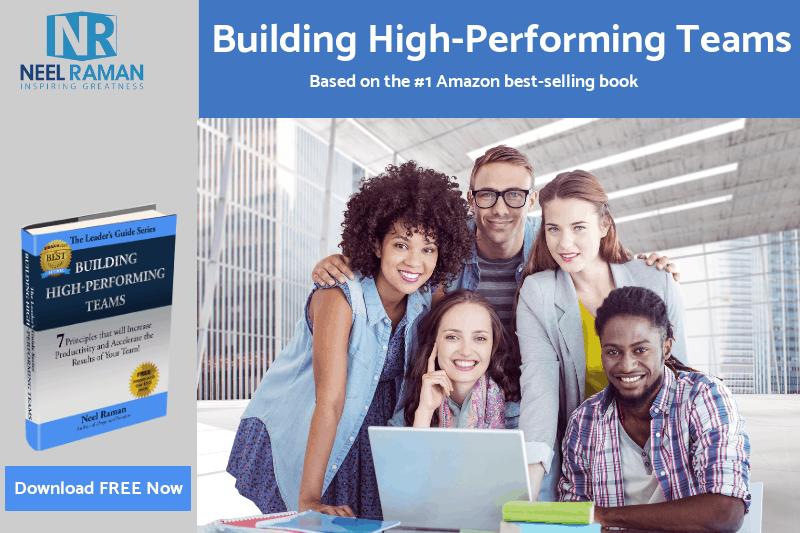 building high-performing teams training program with neel raman