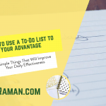 How to Use a To-Do List to Your Advantage